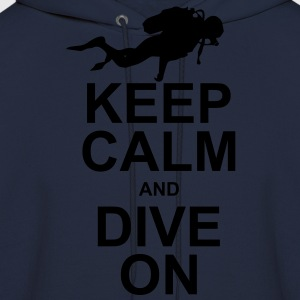 Keep Calm and Dive On (KCDO) Long Sleeve Shirts - Men's Hoodie
