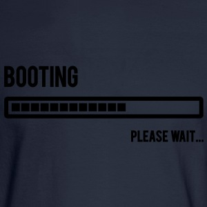 Booting... Please Wait... - Men's Long Sleeve T-Shirt