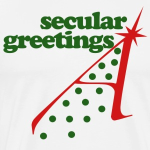 Secular Atheist Christmas - Men's Premium T-Shirt