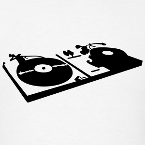DJ, record player, vinyl Sportswear - Men's T-Shirt