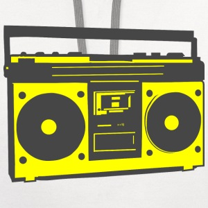Ghetto Blaster T-Shirts - Contrast Hoodie