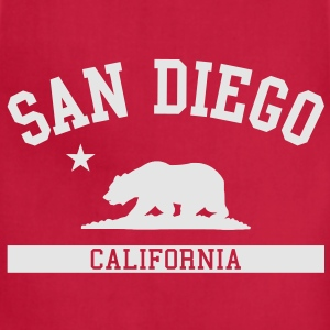 San Diego T-Shirt - Adjustable Apron