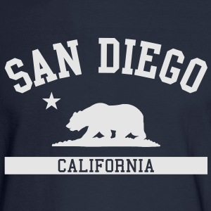 San Diego Hoodie - Men's Long Sleeve T-Shirt