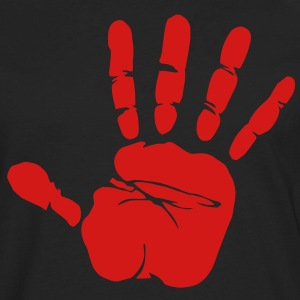 Handprint T-Shirts - Men's Premium Long Sleeve T-Shirt