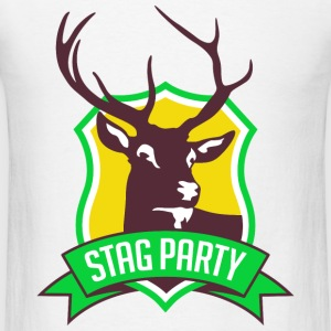 Stag Party 3 (dd)++ Hoodies - Men's T-Shirt