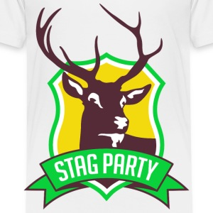 Stag Party 3 (dd)++ Kids' Shirts - Toddler Premium T-Shirt