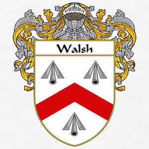 Walsh  Coat of Arms/Family Crest - Men's T-Shirt