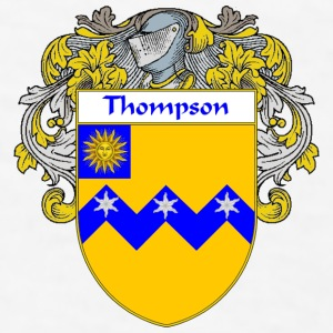 Thompson Coat of Arms/Family Crest - Men's T-Shirt