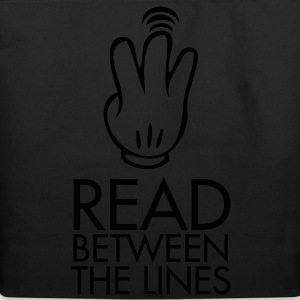 Read between the lines - Eco-Friendly Cotton Tote