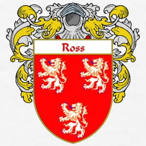 Ross Coat of Arms/Family Crest - Men's T-Shirt