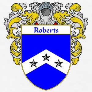 Roberts Coat of Arms/Family Crest - Men's T-Shirt
