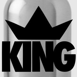 King Crown Hoodies - stayflyclothing.com - Water Bottle