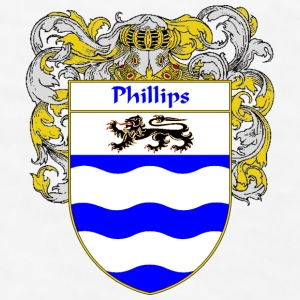 Phillips Coat of Arms/Family Crest - Men's T-Shirt