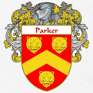 Parker Coat of Arms/Family Crest - Men's T-Shirt