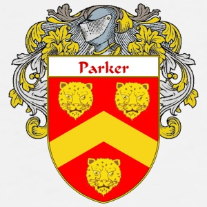 Parker Coat of Arms/Family Crest - Men's Premium T-Shirt