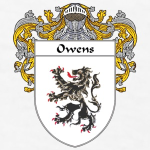 Owens Coat of Arms/Family Crest - Men's T-Shirt
