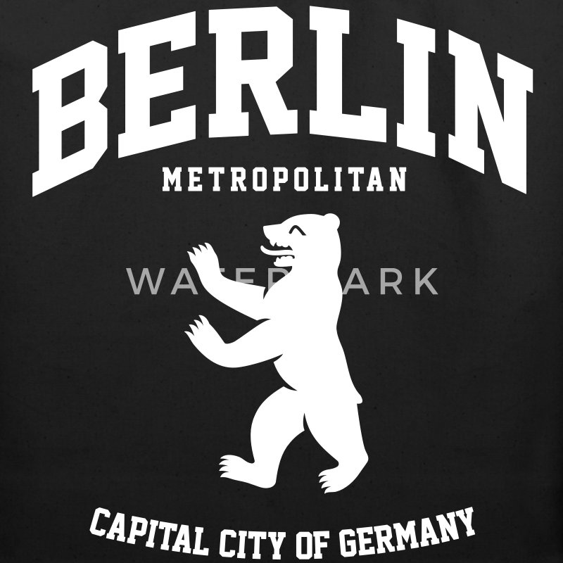 BERLIN BEAR  GERMANY Bags  - Eco-Friendly Cotton Tote
