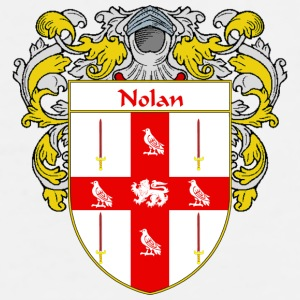 Nolan Coat of Arms/Family Crest - Men's Premium T-Shirt