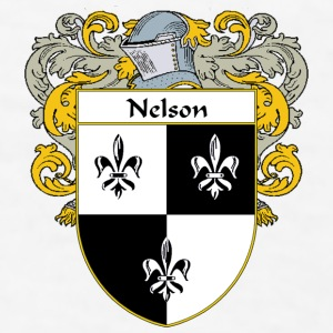 Nelson Coat of Arms/Family Crest - Men's T-Shirt
