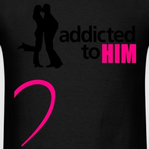 addicted to him - Men's T-Shirt