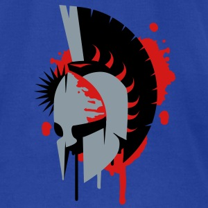 Spartan helmet Tanks - Men's T-Shirt by American Apparel