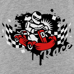 A kart racer graffiti Sweatshirts - Toddler Premium T-Shirt