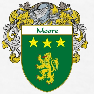 Moore Coat of Arms/Family Crest - Men's T-Shirt
