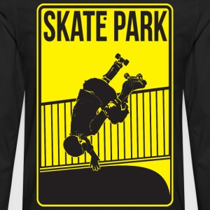 Roller Derby Skate Park Women's T-Shirts - Men's Premium Long Sleeve T-Shirt