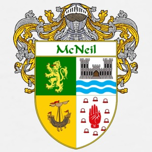 McNeil Coat of Arms/Family Crest - Men's Premium T-Shirt