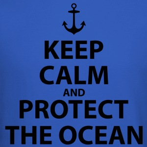 Keep Calm and Protect The Ocean - Crewneck Sweatshirt