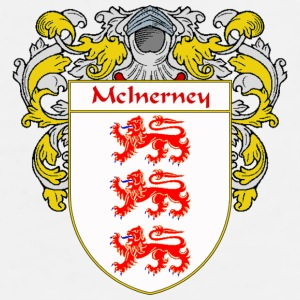 McInerney Coat of Arms/Family Crest - Men's Premium T-Shirt