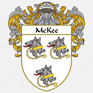 McKee Coat of Arms/Family Crest - Men's Premium T-Shirt