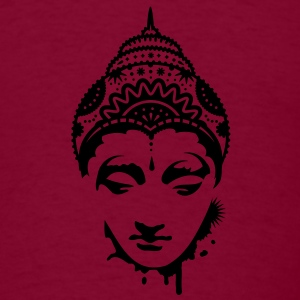 A portrait of a Buddha Hoodies - Men's T-Shirt