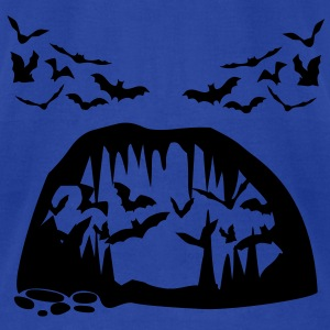 Bat, Bats and Cave Tanks - Men's T-Shirt by American Apparel