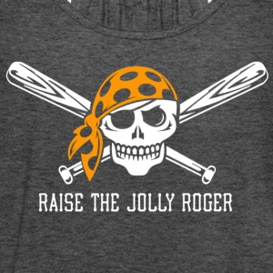 Raise the Jolly Roger - Women's Flowy Tank Top by Bella