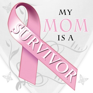 my_mom_is_a_survivor Women's T-Shirts - Bandana