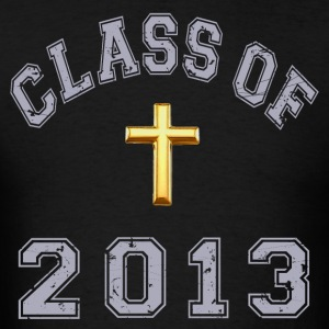 Class Of 2013 Christian - Men's T-Shirt
