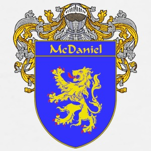 McDaniel Coat of Arms/Family Crest - Men's Premium T-Shirt