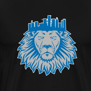 Detroit Crown Hoodies - Men's Premium T-Shirt