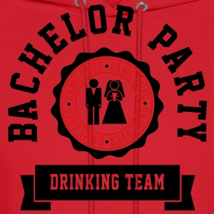 Bachelor Party Drinking Team T-Shirts - Men's Hoodie