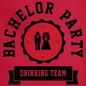 Bachelor Party Drinking Team T-Shirts - Adjustable Apron