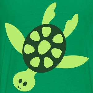 Sea Turtle TWO COLOR Hoodies - Men's Premium T-Shirt