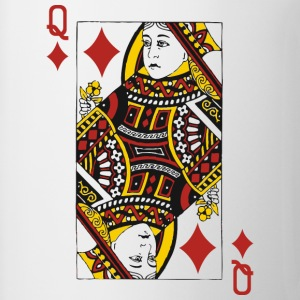 Queen of Diamonds T-Shirts - Coffee/Tea Mug