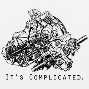 It's Complicated T-Shirts - Men's Premium Tank