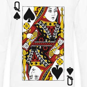 Queen of Spades T-Shirts - Men's Premium Long Sleeve T-Shirt