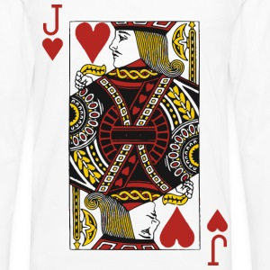 Jack of Hearts T-Shirts - Men's Premium Long Sleeve T-Shirt