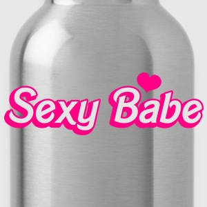 SEXY BABE cute dolly font T-Shirts - Water Bottle