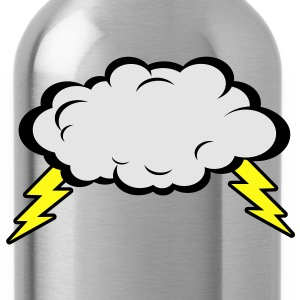 Thunder Cloud Women's T-Shirts - Water Bottle