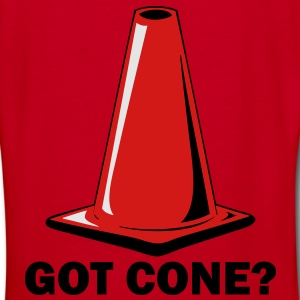 GOT CONE? large vector image 1 Zip Hoodies/Jackets - Women's V-Neck T-Shirt