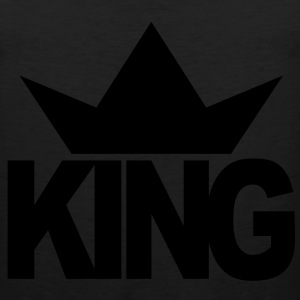 KING CROWN Kids' Shirts - Men's Premium Tank